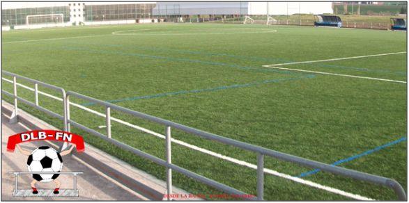 Figura 22 : Imagen del campo de fútbol de la Universidad Pública de Navarra. (Fuente: Desde La Banda – Fútbol Navarro)
