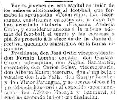 La Vanguardia, 06/10/1900
