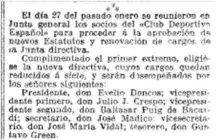 La Vanguardia, 06/02/1911