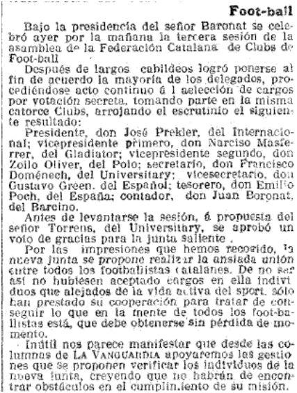 La Vanguardia, 07/07/1913