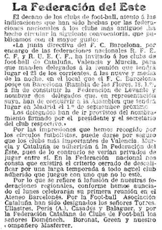 La Vanguardia, 15/08/1913