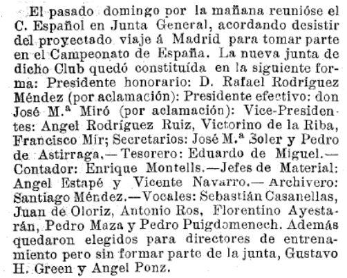 Los Deportes, 20/03/1904