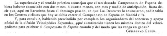 Los Deportes, 15/10/1899