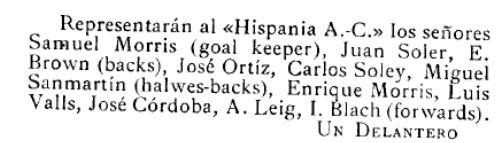 Los Deportes, 16/12/1900