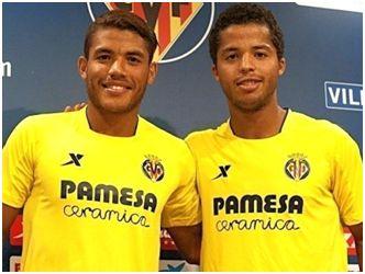 Los hermanos Jonathan y Giovani dos Santos