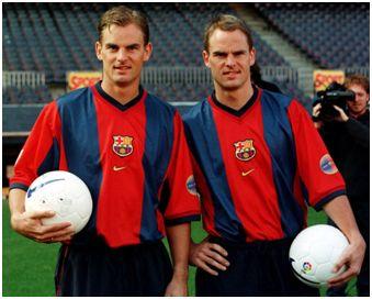 Ronald y Frank de Boer