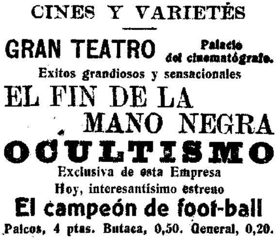 La Correspondencia de España, 28 de septiembre de 1914, página 7.