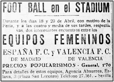 """Anuncio de la Agencia Abaurrea en el periódico sevillano """"La Unión"""" (15-IV-1932). Mientras algunas mujeres trataban de liberarse, los oportunistas encontraban nuevas fórmulas para hacer caja a su costa."""