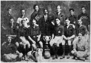 México  Fútbol  Club,  campeón  1912