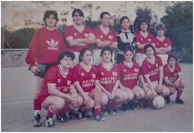 SD Joventut Bunyola, entre 1985 y 1988 (archivo Francisca Orell Salom)