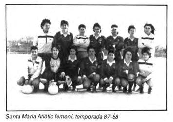 CD Santa Maria Atlètic (Coanegra nº 50, mayo 1988)