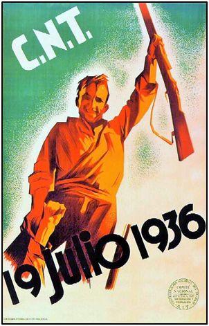 Los sindicatos, tanto anarquistas como de raíz socialista, reaccionaron de inmediato, si bien muy desorganizados, ante el alzamiento militar del 18 de Julio de 1936.