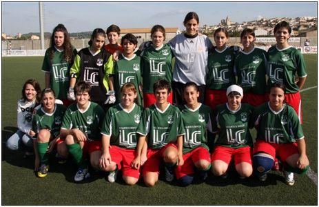 Atlético de Paguera, noviembre de 2008 (www.infobalear.com)