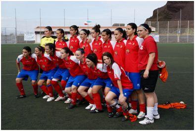 UD Collerense el día del ascenso a Superliga, 20 de junio de 2009 (www.futbolbalear.es)