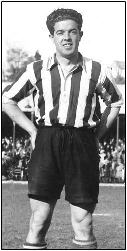Alfonso Olaso en su última época como futbolista.
