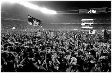 Lleno hasta la bandera en el histórico concierto de U2.