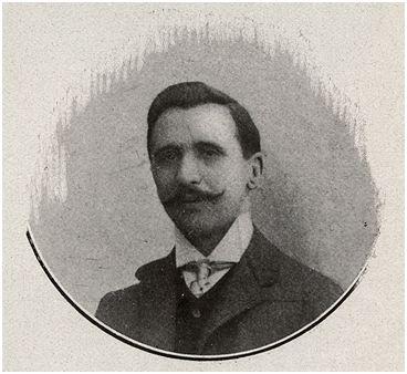"""Esteve Sala, promotor del concurso """"Copa Canaletas"""" (Stadium nº 10). Biblioteca de Catalunya. Barcelona."""