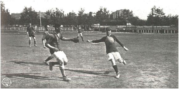F.C. Numancia-F.C. Internacional (Stadium nº 12). Biblioteca de l'Esport. Consell Català de l'Esport.
