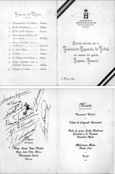 Cartulinas cedidas por la familia de Salvador Arqueta.