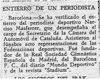 El Avisador Numantino, 12 de abril de 1941, pág. 1.