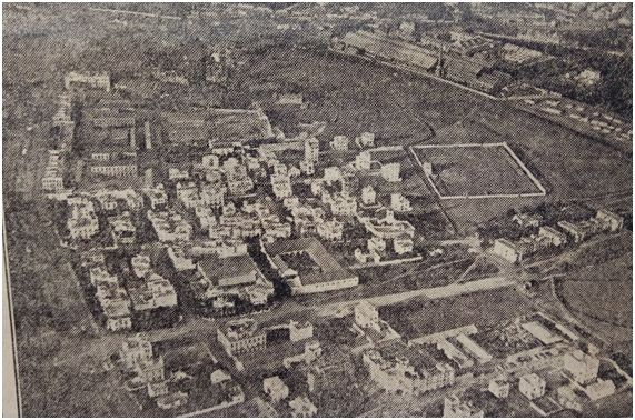 Vista aérea del Patronato en 1926