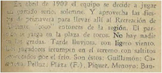 Fielpeña, 1941