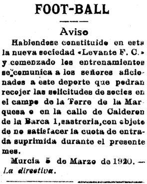 El Tiempo 5 de marzo de 1920