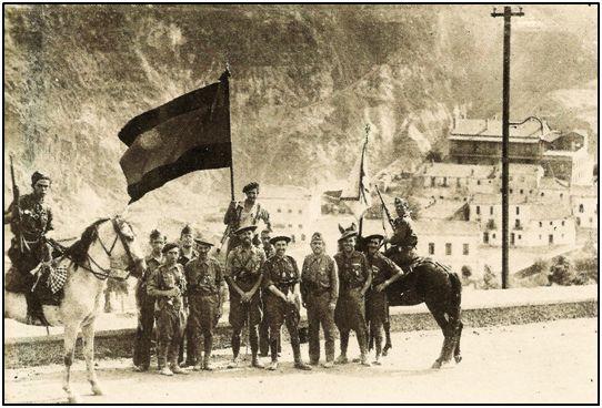 Carlistas del comandante Redondo, toman Riotinto.