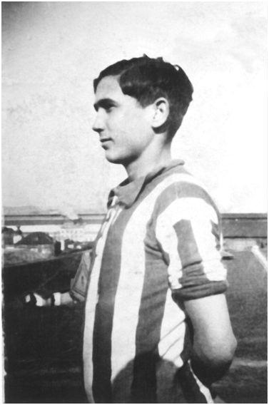 José Luis Justel Bollar, nacido en Sestao y dado por desaparecido en el frente de Gandesa (10-11-38) cuando contaba tan solo con 18 años de edad (Fotografía cedida por su sobrino Francisco Javier López Justel).