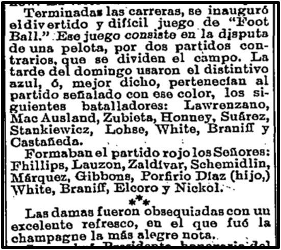 El Universal, 11 de octubre 1892, p. 3