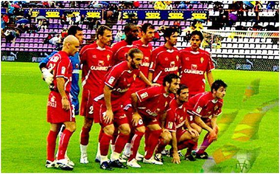 Formación 2007-08: De pie: Movilla, Notario, Pignol, Goitom, Richi, Arzo, Mejía. Agachados: Iván Alonso, Paco Peña, De Lucas, Jofre.