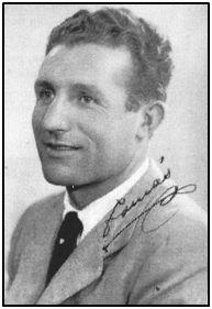 """Tomás Arnanz, """"Tomasín"""" durante sus primeros años de corto. Herido en un pie, tras la Guerra Civil se convirtió en entrenador."""