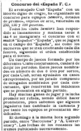 El Mundo Deportivo, 23/09/1909