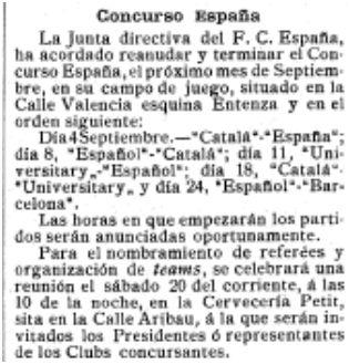 El Mundo Deportivo, 18/08/1910