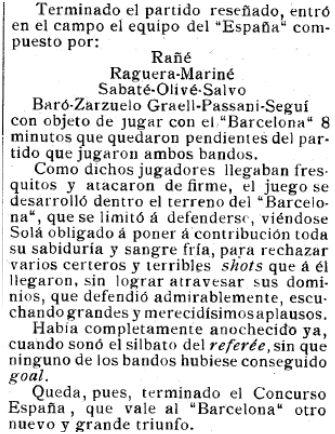 El Mundo Deportivo, 17/11/1910