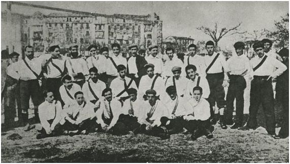 El primer encuentro que disputó el Madrid Foot-ball Club (Archivo ABC)