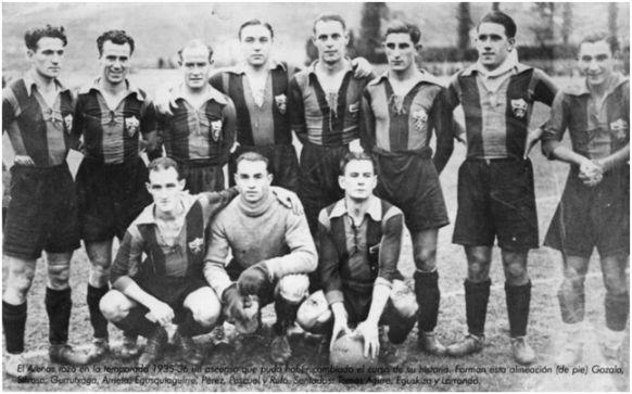 El Arenas rozó en la temporada 1925-36 un ascenso que pudo haber cambiado el ca06112a8e324