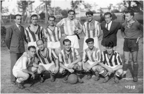 Poitiers. 18 de mayo de 1947. Final de Copa de Patronatos de Francia contra 0e229ea3e612e