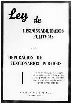 La Ley de responsabilidades Políticas y de Depuración de Funcionarios Públicos puso a muchos españoles en la calle, de un día para otro, obligándoles a improvisar otra vida. Para algunos representó la miseria. Otros, más afortunados, lograrían salir adelante. Un buen puñado de futbolistas pasaron, también, de ídolos a apestados.