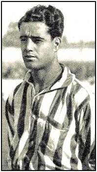 García de la Puerta en 1933. Díscolo, displicente, desordenado y genial, con biografía digna de película. Pudiendo ser grande en el fútbol prebélico, quedaría en anécdota.