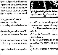Noticia de las declaraciones de Rogel (1-6-1994/El Mundo Deportivo)