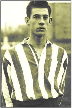 Zubieta jovencísimo, en el Athletic Club. Regresó a nuestro fútbol 16 años después, para lucir el escudo del Deportivo de La Coruña. Fue en Argentina donde disfrutaron de su gran fútbol.