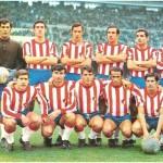 Una formación del Granada C.F., Machicha es el primero por la izquierda, agachado. (foto gentileza de Juan A. Lebrero).