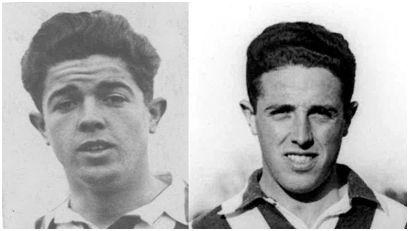 Los hermanos Alfonso y Luis Olaso