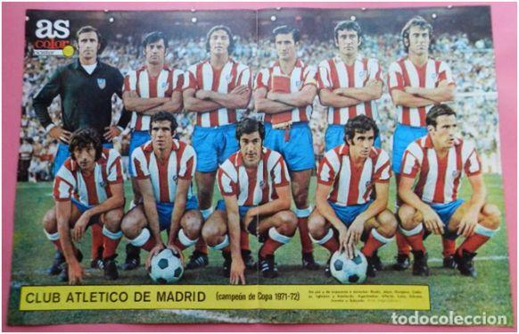 Formación Campeón de Copa Generalísimo 1971/72: De pie: Rodri, Martínez Jayo, Ovejero, Calleja, Iglesias, Adelardo. Agachados: Ufarte, Luis Aragonés, Gárate, Irureta, Salcedo.