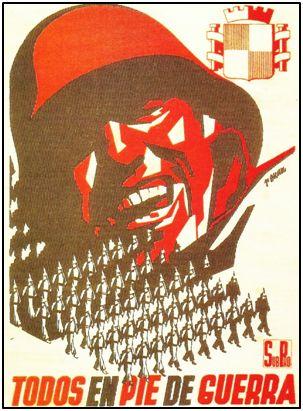 Propaganda republicana de Josep Renau, uno de sus grandes cartelistas.