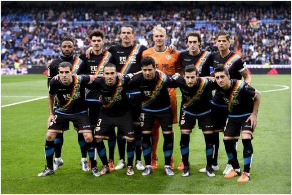 Formación 2015-16: Arriba: Lass, Jozabed, Amaya, Yoel, Baena, Zé Castro.  Abajo: Trashorras, Nacho, Javi Guerra, Tito, Pablo Hernández.