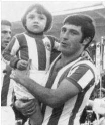Aranzábal con su padre Gaztelu