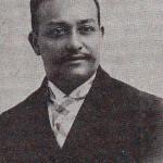 Dr. Manuel Saravia.  Foto propiedad del Dr. Jorge Alberto Amaya Banegas.