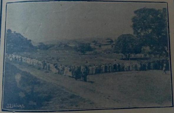 Vista de las personas que presenciaron el partido entre el Club Patria y el Sporting Club.